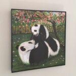 Panda I got you wall